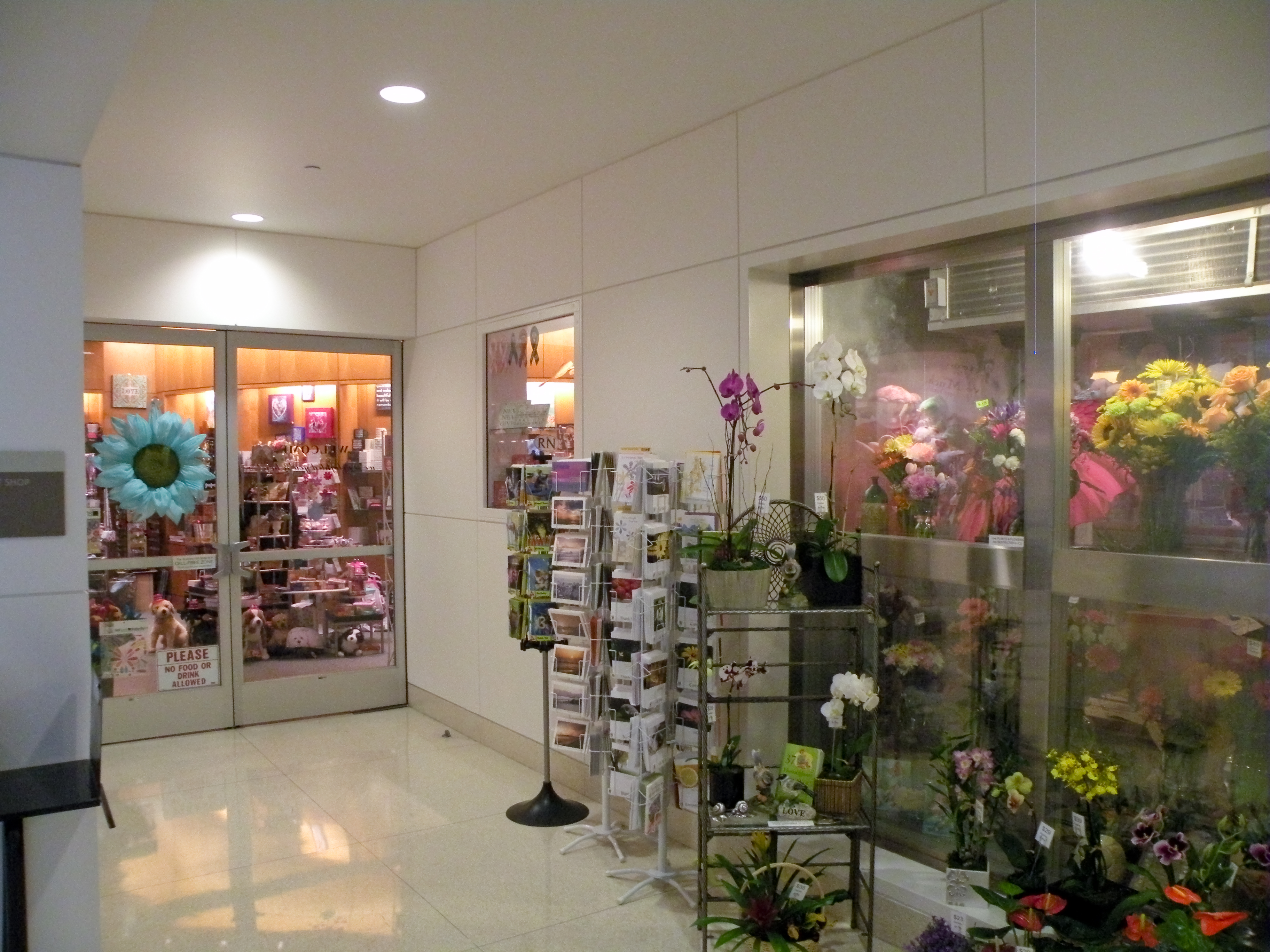 UCLA Campus Map: Medical Center Auxiliary Gift Shop
