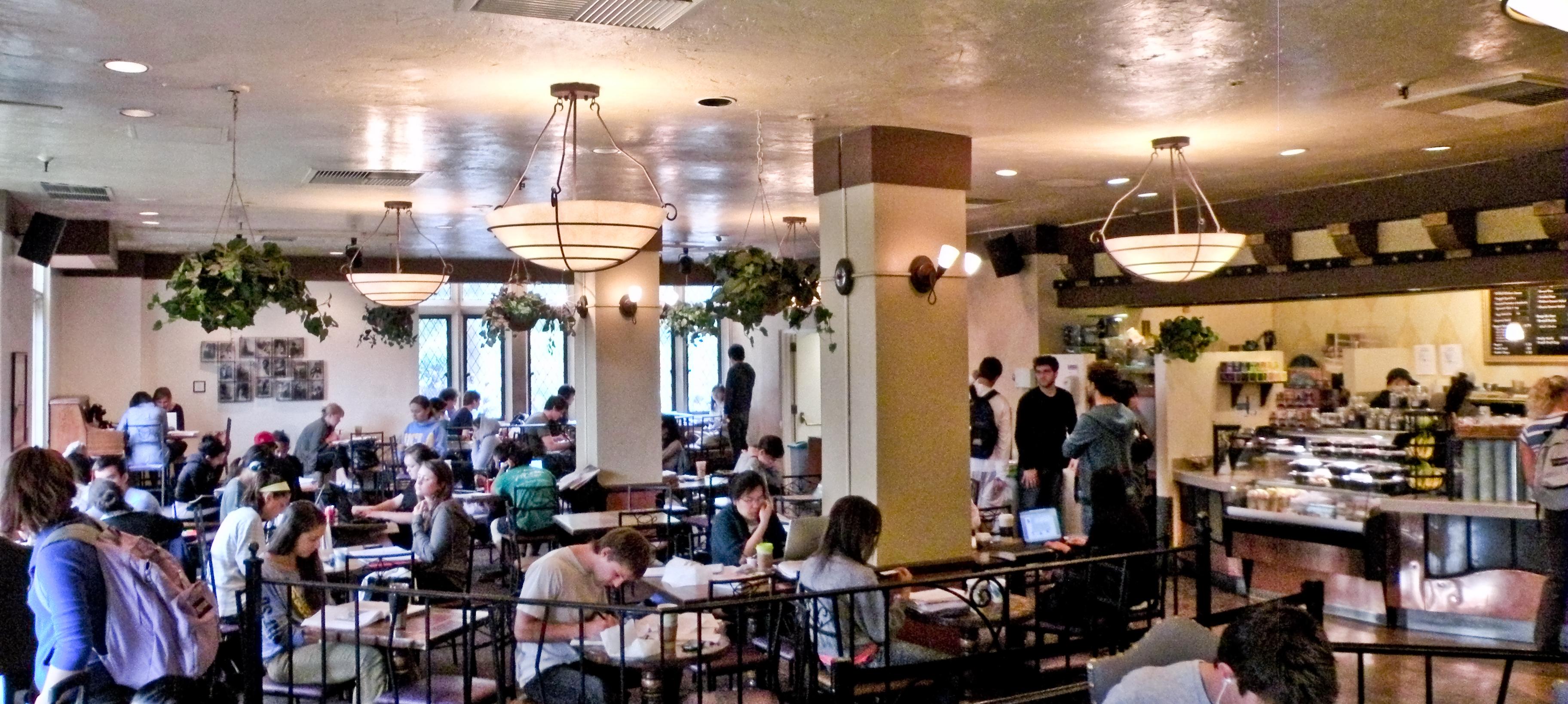 Ucla Campus Map Kerckhoff Coffee House